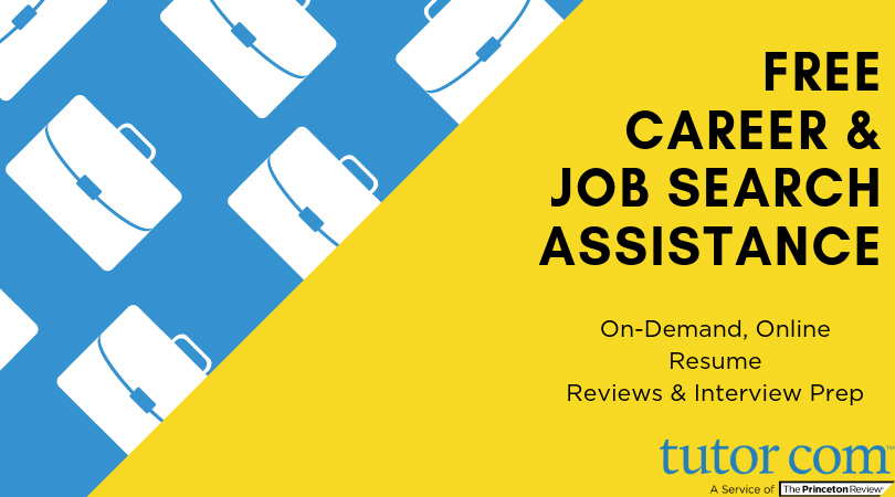 Tutor.com - Free career and job search assistance